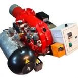 Горелка AL-35V (120-360 кВт) для котла на отработанном масле, Великий Новгород